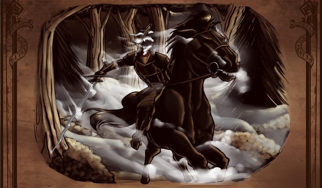 The Horseman Arrives!